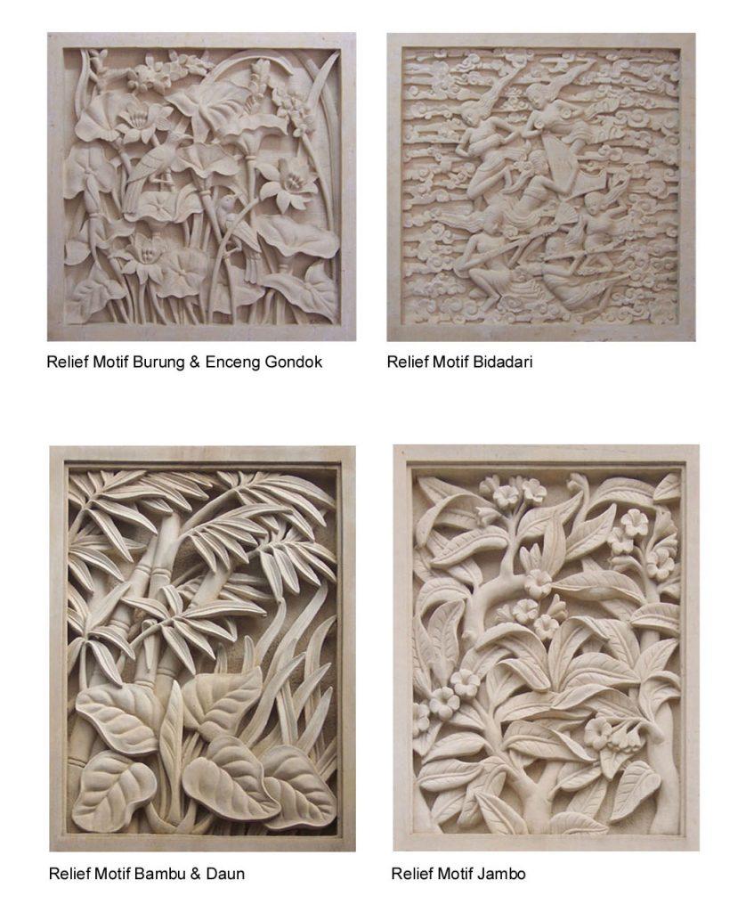 bali stone carving