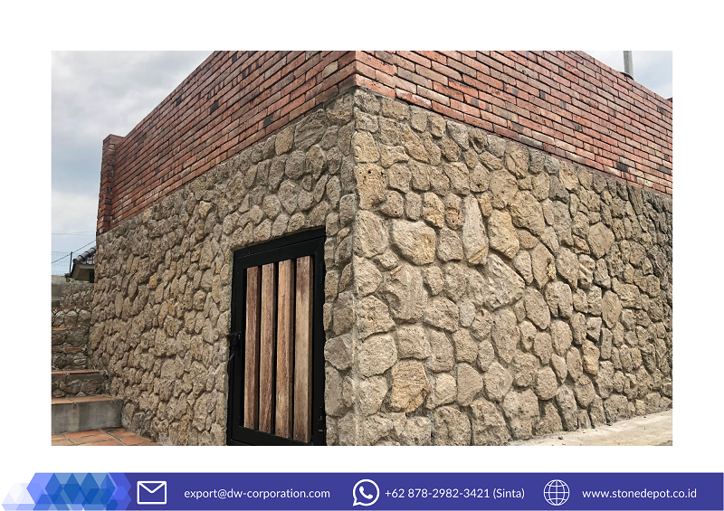 bali-brown-limestone-wall-cladding-bukit-daun-hotel-resort-kediri (1)
