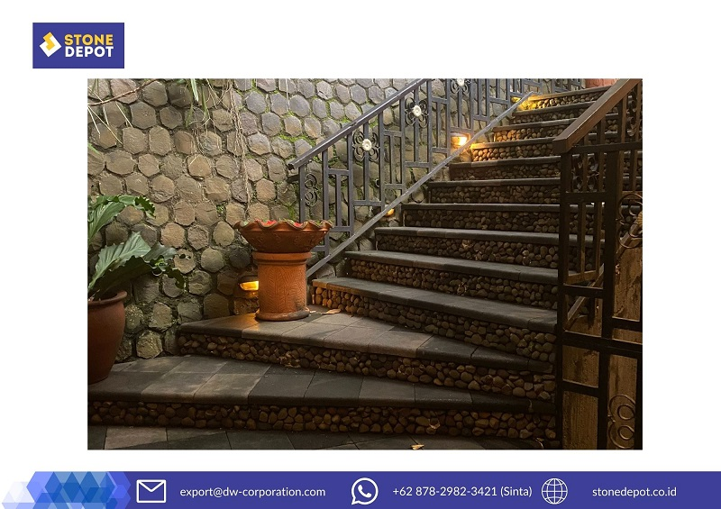 3 Facts About Candi Lava Stone Stairs at MesaStila Resort